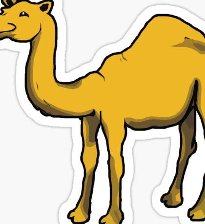 Cute camel Sticker