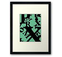 Proximity Framed Print