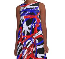 Abstract 5502 A-Line Dress