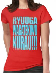 Hanzo - RYUU GA WAGA TEKI WO KURAU!! Womens Fitted T-Shirt