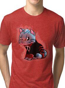 RAGE KITTY Tri-blend T-Shirt