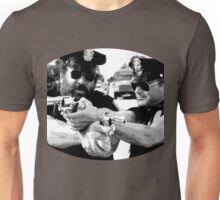 Terence Hill & Bud Spencer - Italian actors (policemen version) Unisex T-Shirt