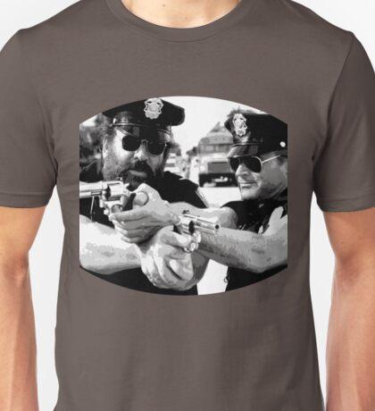 Terence Hill & Bud Spencer - Italian actors (policemen version) Unisex T-Shirt