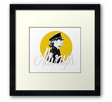 Kate Beckett - Always Framed Print