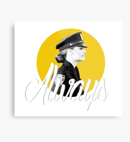 Kate Beckett - Always Metal Print