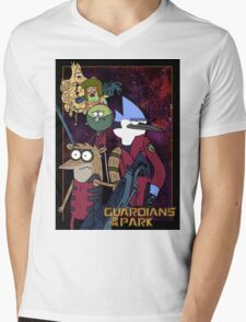 Guardians of the Park Mens V-Neck T-Shirt