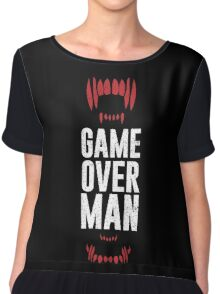 Game Over Man Chiffon Top