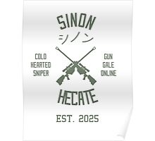 Sinon Hecate (Green) Poster