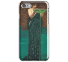 John William Waterhouse - Circe Invidiosa 1892. Woman portrait: sensual woman, girly art, female style, pretty women, femine, beautiful dress, cute, creativity, love, sexy lady iPhone Case/Skin