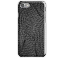 cable knit | texture iPhone Case/Skin