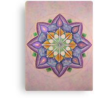 Mandala : Inner Strength  Canvas Print