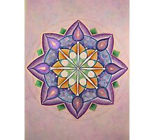 Mandala : Inner Strength  Photographic Print