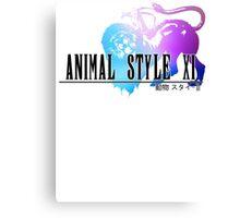 Animal Style Fantasy (White) Canvas Print