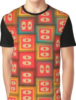 Colorful tiles Graphic T-Shirt