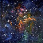 Stars Painting by Ottavio Fabbri by ottaviofabbri