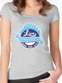 Live From the City  Women's Fitted Scoop T-Shirt