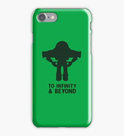Buzz Lightyear: To Infinity & Beyond - Black iPhone Case/Skin
