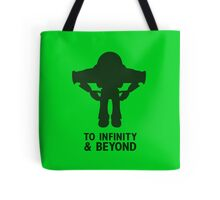 Buzz Lightyear: To Infinity & Beyond - Black Tote Bag