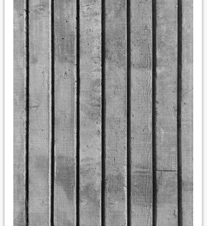 Wood Grain Concrete Texture, Vertical Sticker