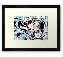Drowning Alice Framed Print