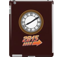 Back to the Future Clock 2015 iPad Case/Skin