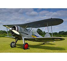 Gloster Gladiator Photographic Print