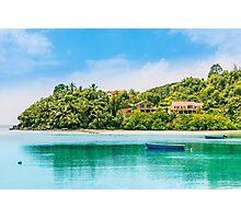 Tropical beach Photographic Print