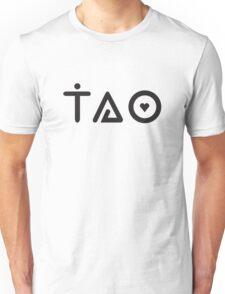 tao (black) Unisex T-Shirt