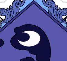 MLP - Princess Luna's Coat of Arms Sticker