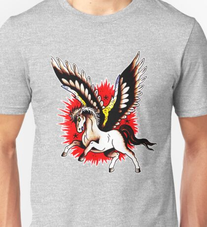 Pegasus Tattoo design Unisex T-Shirt