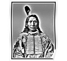 CHIEF RED CLOUD-OGLALA LAKOTA SIOUX 2 Poster
