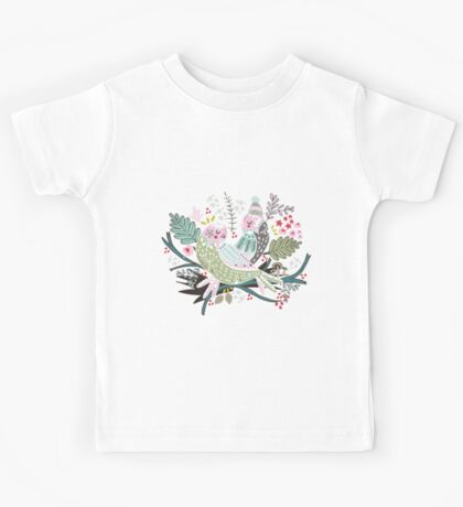 Holiday Birds Love II Kids Clothes