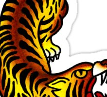 Traditional Tiger Tattoo design Sticker