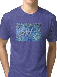 Pisces Doodled Tri-blend T-Shirt