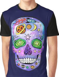 Space Skull Graphic T-Shirt