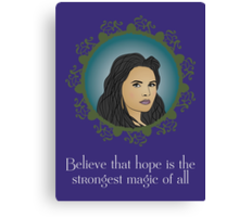 OUAT - Believe In Hope Canvas Print