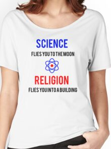 Science Vs. Religion Women's Relaxed Fit T-Shirt