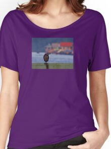 COLOURS OF THE WATERVILLAGE Women's Relaxed Fit T-Shirt