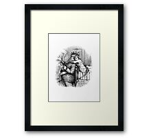 Catching Santa Claus  Framed Print