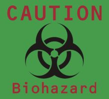 Caution Biohazard One Piece - Short Sleeve