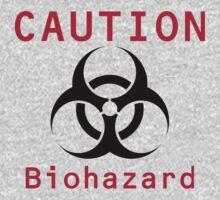 Caution Biohazard Kids Tee