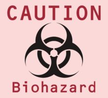 Caution Biohazard Kids Tee