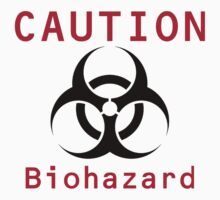 Caution Biohazard Baby Tee