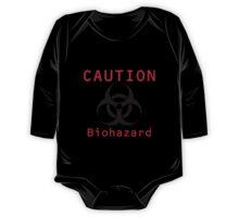 Caution Biohazard One Piece - Long Sleeve