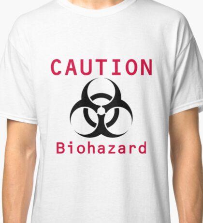 Caution Biohazard Classic T-Shirt