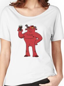Stout Beer Monster Women's Relaxed Fit T-Shirt