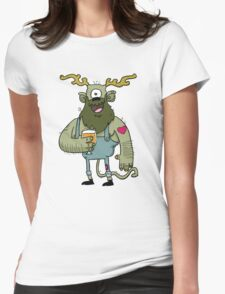 Saison Beer Monster Womens Fitted T-Shirt