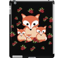 Foxes in winter  iPad Case/Skin