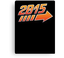 2015 Logo Canvas Print