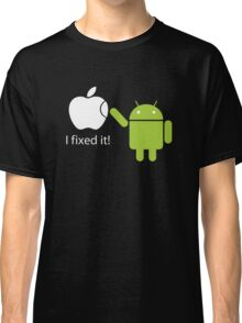 I Fixed It! Robot Phone Mobile  Classic T-Shirt